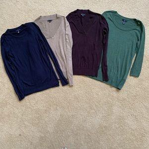 Gap lightweight sweaters bundle